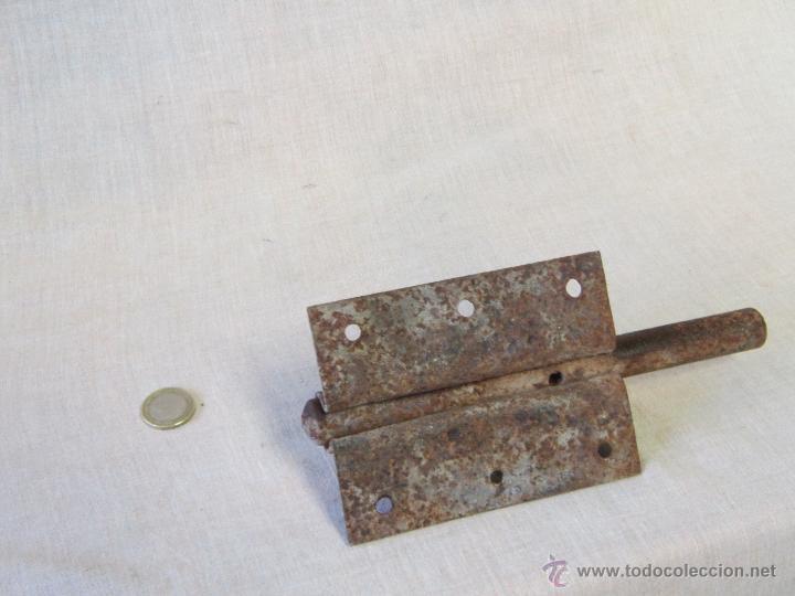 Antigüedades: PASADOR ANTIGUO DE FORJA - Foto 2 - 42883653