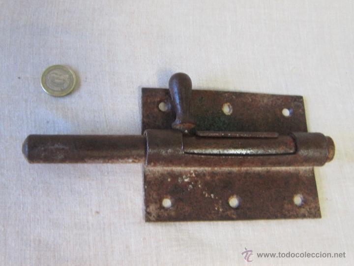 Antigüedades: PASADOR ANTIGUO DE FORJA - Foto 3 - 42883653
