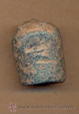 BRO 62 - PONDERAL O PESO - POSIBLEMENTE BIZANTINO O ROMANO MEDIDAS 25 X 20 X 20 MM PESO SOBRE 58 (Antigüedades - Técnicas - Medidas de Peso - Ponderales Antiguos)