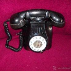 Teléfonos: TELEFONO NEGRO DE PARED--BAQUELITA.. Lote 42963732