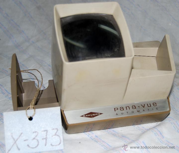 Antigüedades: VISOR DIAPOSITIVAS PANA-VUE AUTOMATIC SAWYERS - XXX 373 - Foto 7 - 42964954