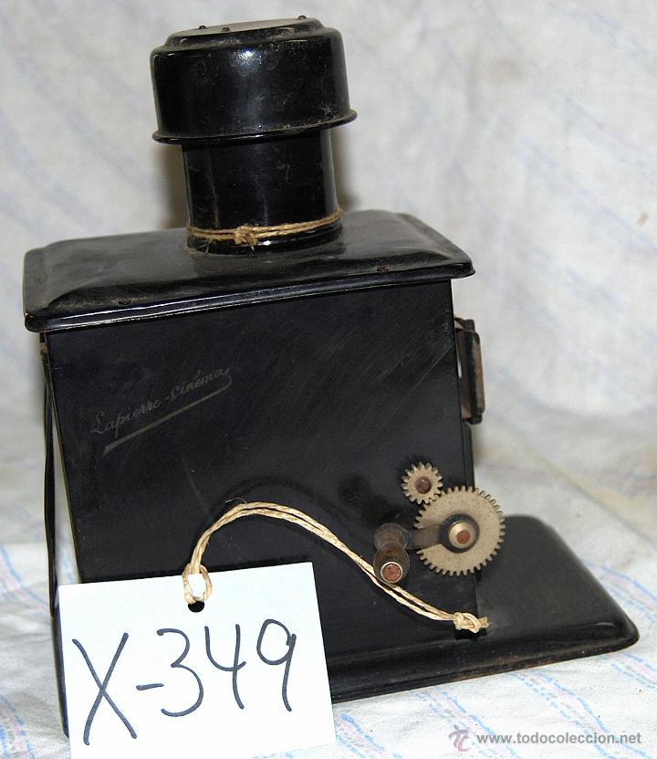 Antigüedades: Linterna mágica LAMPIERE- CINEMA, finales siglo XIX principios del siglo XX - 349 - Foto 2 - 42965030