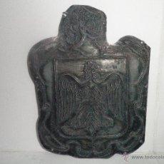 Antigüedades: TAMPON PLACA SELLO PLANCHA DE IMPRENTA METALICA. Lote 42975333