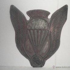 Antigüedades: TAMPON PLACA SELLO PLANCHA DE IMPRENTA METALICA. Lote 42975817