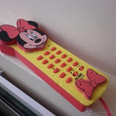 Teléfonos: TELEFONO SOLAC TELECOM DSNEY- MINNIE- FUNCIONA. Lote 43010314