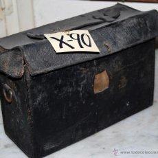 Antigüedades: CAJA CÁMARA EN PIEL - 90. Lote 43032887