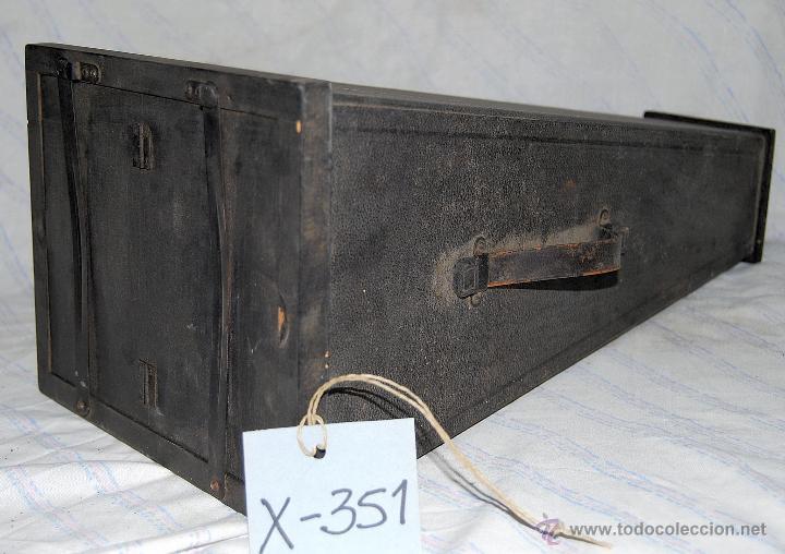 Antigüedades: AMPLIADORA FOTOGRÁFICA DE MANO MARCA ICA AKT-GES - XXX 351 - Foto 5 - 43034721