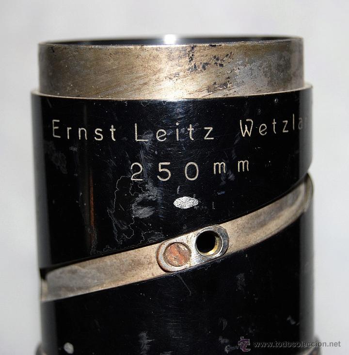 Antigüedades: VISOR ERNST LEINZ WETZLAR 250 MM - XXX 348 - Foto 8 - 43034776