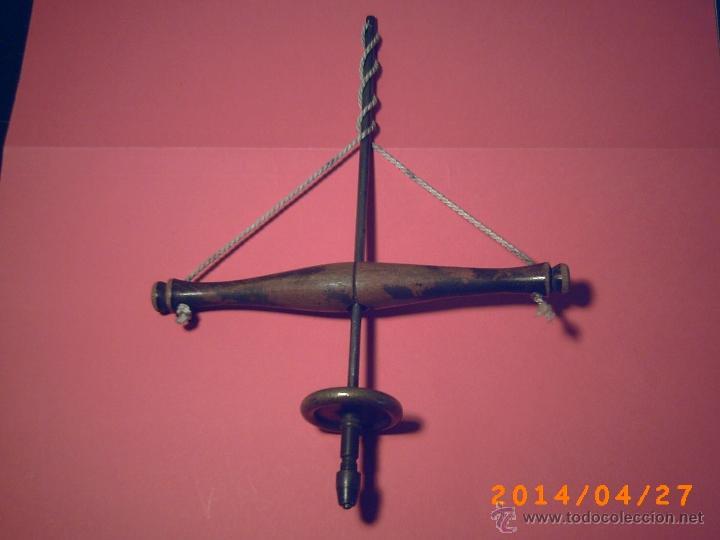 Antigüedades: ANTIGUO BERBIQUI TALADRO PARA JOYERIA-RELOGERIA CON OCHO BROCAS - Foto 4 - 43035445