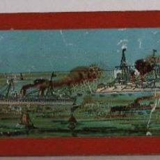 Antigüedades: PLACA DE VIDRIO / DIAPOSITIVA PARA LINTERNA MAGICA (18X5CM APROX). Lote 43038471