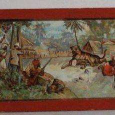 Antigüedades: PLACA DE VIDRIO / DIAPOSITIVA PARA LINTERNA MAGICA (18X5CM APROX). Lote 43038530