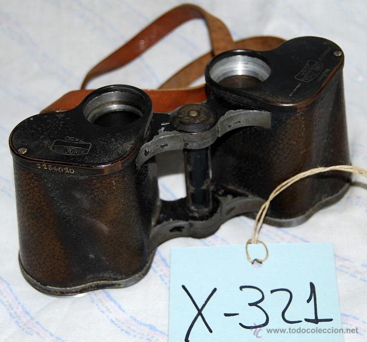 PRIMÁTICOS ZEISS JENA - 321 (Antigüedades - Técnicas - Instrumentos Ópticos - Prismáticos Antiguos)