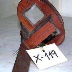 Antigüedades: VISOR ESTEREOSCOPIO EN MADERA - 119. Lote 43042702