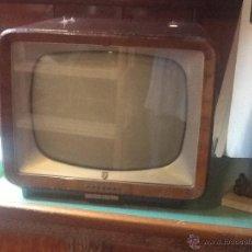 Antigüedades: TELEVISOR MADERA PHILIPS. Lote 43114165