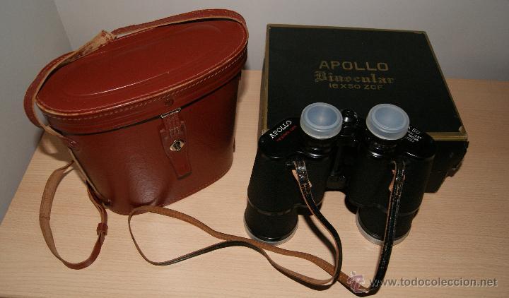 Antigüedades: Antiguo Binocular APOLLO 16x50 ZCF prismaticos nº4219 Japan 3,5º 61 m a 1000 m - Foto 2 - 43117498