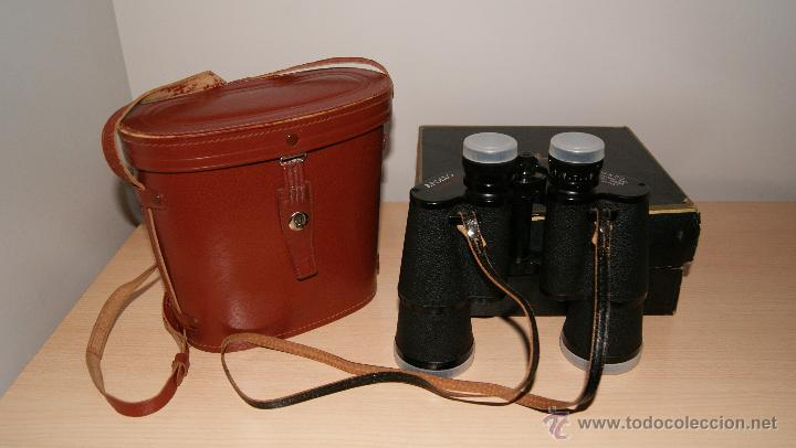 Antigüedades: Antiguo Binocular APOLLO 16x50 ZCF prismaticos nº4219 Japan 3,5º 61 m a 1000 m - Foto 3 - 43117498