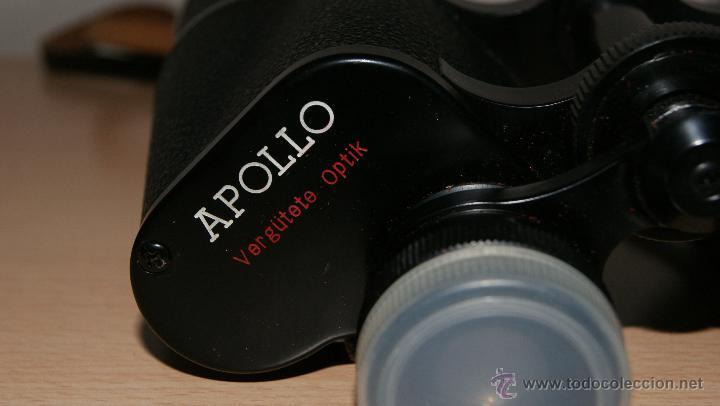 Antigüedades: Antiguo Binocular APOLLO 16x50 ZCF prismaticos nº4219 Japan 3,5º 61 m a 1000 m - Foto 14 - 43117498