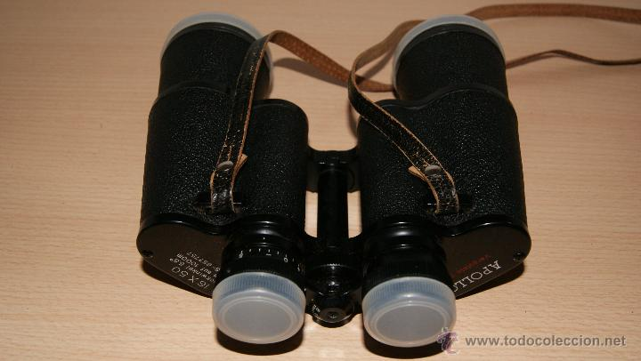Antigüedades: Antiguo Binocular APOLLO 16x50 ZCF prismaticos nº4219 Japan 3,5º 61 m a 1000 m - Foto 16 - 43117498