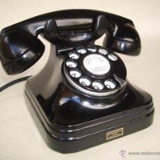 Teléfonos: TELÉFONO ANTIGUO AÑOS 50 STANDARD ELÉCTRICA - MADRID 100% ORIGINAL. ADAPTADO A FIBRA ÓPTICA.. Lote 63439078