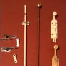 Antigüedades: JUEGO DE PESTILLOS 1. Lote 43194025