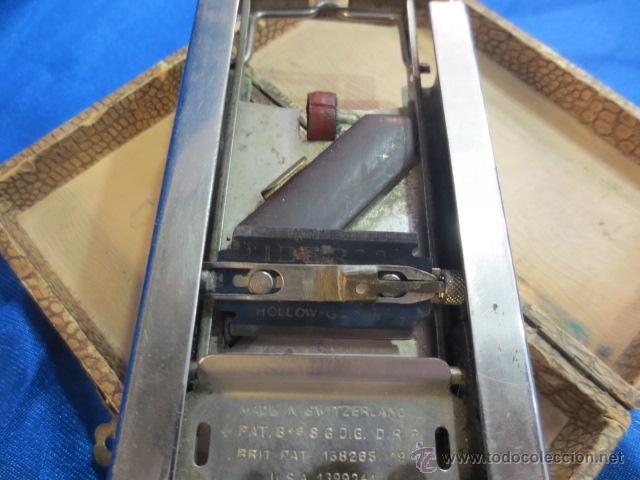 Antigüedades: MAQUINA PARA AFILAR CUCHILLAS DE AFEITAR - Foto 3 - 43200707