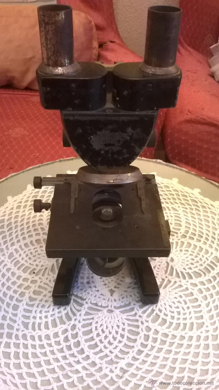 MICROSCOPIO ANTIGUO S. XIX ALEMÁN CARL ZEISS- CON LENTES OBJETIVOS VALORADOS EN MÁS´DE 430 EUROS (Antigüedades - Técnicas - Instrumentos Ópticos - Microscopios Antiguos)