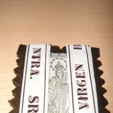 Antigüedades: ANTIGUO ESCAPULARIO VIRGEN DEL CARMEN SIN USAR. Lote 43234039