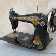Antiquitäten - maquina de coser singer antigua, funcionando - 43264847