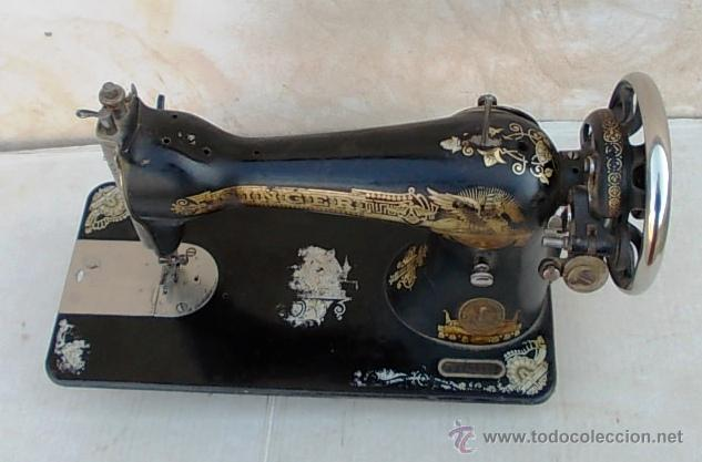 Antigüedades: maquina de coser singer antigua, funcionando - Foto 4 - 43264847