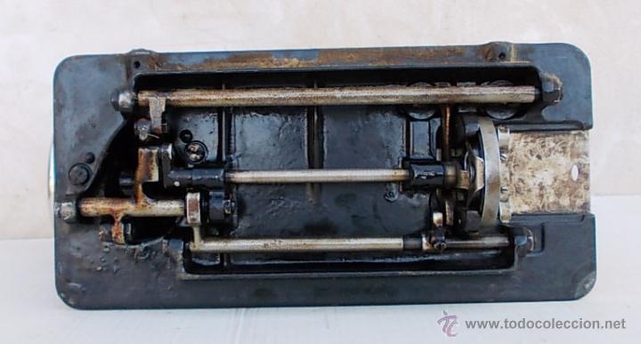 Antigüedades: maquina de coser singer antigua, funcionando - Foto 7 - 43264847