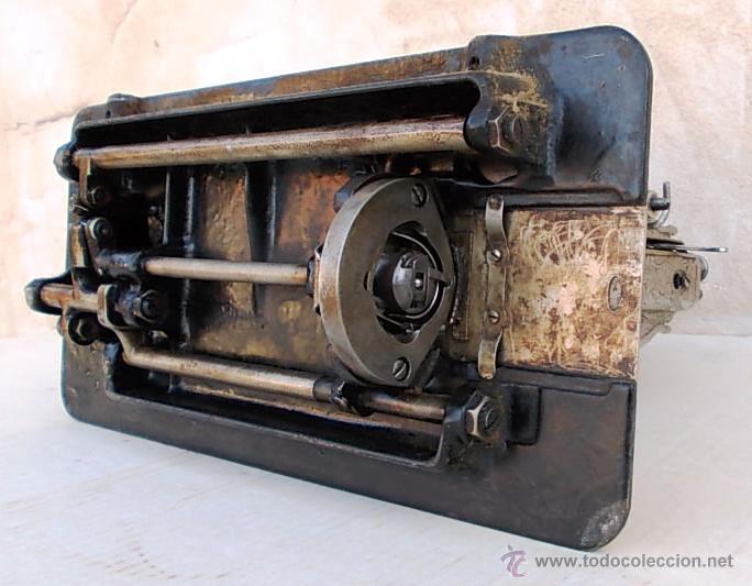 Antigüedades: maquina de coser singer antigua, funcionando - Foto 8 - 43264847