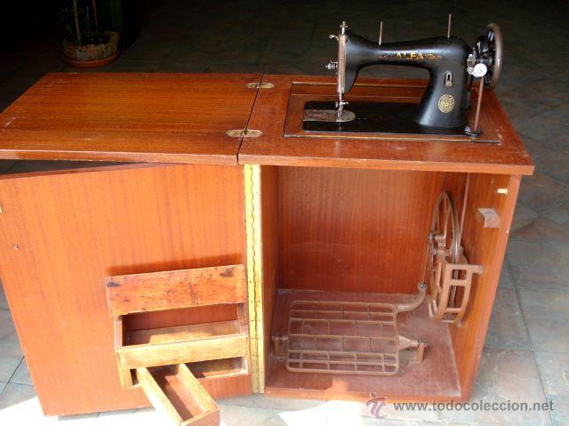 maquina coser alfa plegable mueble maquina de c comprar