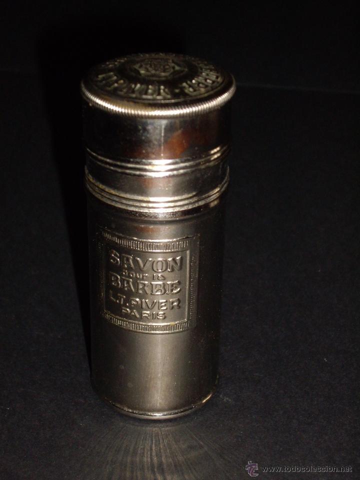 Antigüedades: CAJA METALICA PARA BARRA DE JABON DE AFEITAR - L.T. PIVER PARIS - Foto 6 - 57127436