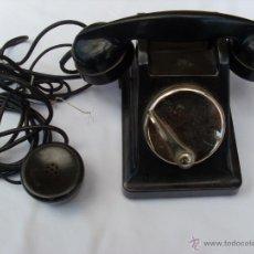 Teléfonos: TELÉFONO DE CENTRALITA EN BAQUELITA.. Lote 43293670