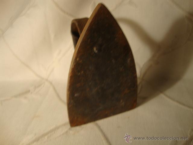 Antigüedades: ANTIGUA PLANCHA EN HIERRO COLADO, ES DE F.F. S.XIX, HACIA 1875 - Foto 4 - 43319418