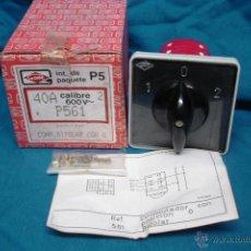CONMUTADOR 40 A 600 V MARCA GAVE SERIE P-5 REF. P 561 - NUEVO