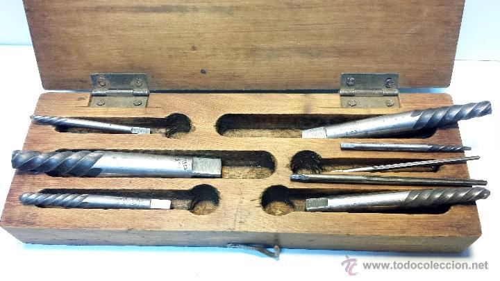 Antigüedades: LOTE HERRAMIENTAS TALLER MECANICO. VER DESCRIPCION. - Foto 2 - 43329098