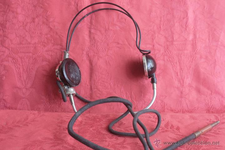 TELÉFONO AURICULAR DE CENTRALITA (Antigüedades - Técnicas - Teléfonos Antiguos)