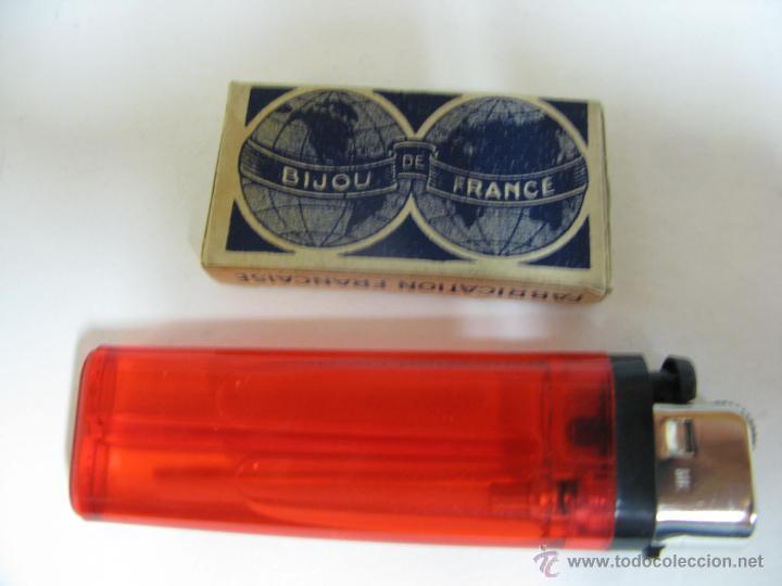 Antigüedades: Cuchillas de afeitar antiguas - Foto 2 - 43361255