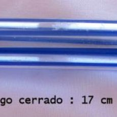 Antigüedades: PRECIOSO ESTUCHE DE CRISTAL DE NECESER DE AFEITADO. Lote 43376166