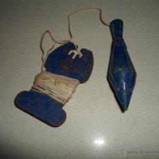 Antigüedades: PLOMADA DE ALBAÑIL. Lote 43439935