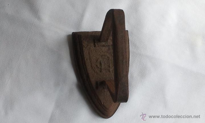 ANTIGUA PLANCHA HIERRO (Antigüedades - Técnicas - Planchas Antiguas - Hierro)