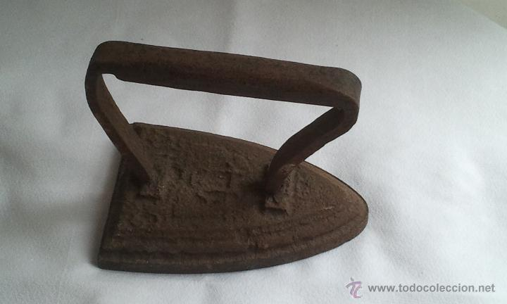 Antigüedades: Antigua Plancha Hierro - Foto 3 - 43440365