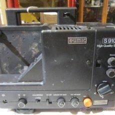Antigüedades: PROYECTOR EUMING S-910 HIGH QUALITY SOUND. FUNCIONA TODO MENOS EL MOTOR.. Lote 43503755