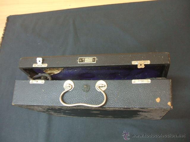 Antigüedades: ANTIGUO MALETIN PORTATIL DE ELECTROTERAPIA - ¿AÑOS 20-30? - Foto 13 - 43541380