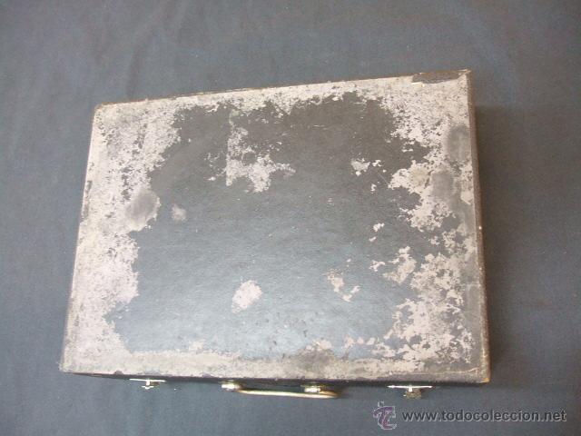 Antigüedades: ANTIGUO MALETIN PORTATIL DE ELECTROTERAPIA - ¿AÑOS 20-30? - Foto 16 - 43541380