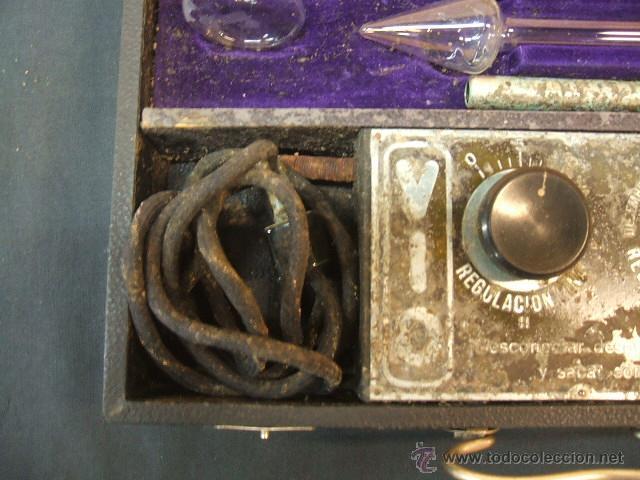 Antigüedades: ANTIGUO MALETIN PORTATIL DE ELECTROTERAPIA - ¿AÑOS 20-30? - Foto 19 - 43541380