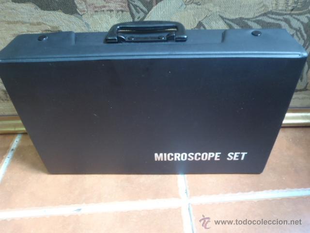 Antigüedades: SET MICROSCOPIO ZEUS 100 X -900X ZOOM CON LUZ, 3 LENTES. - Foto 4 - 43544575