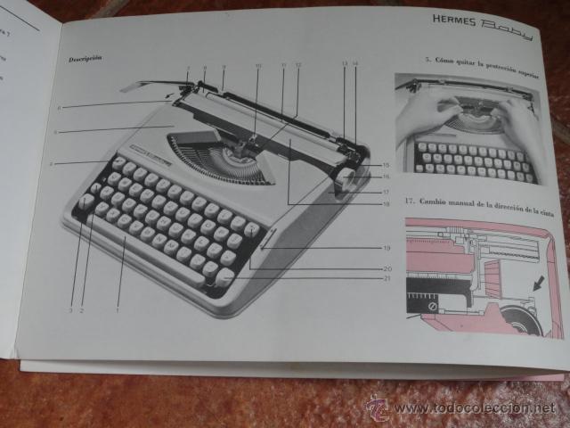Antigüedades: FOLLETO PUBLICIDAD MAQUINA DE ESCRIBIR HERMES BABY - Foto 6 - 43551030