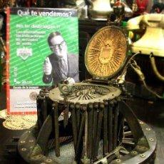 Antigüedades: ANTIGUO MOLDE FRANCES PARA SOMBREROS ALLIE MAILLARD AÑO 1800. Lote 43662349